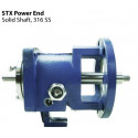Repuesto Power end, Bomba Goulds 3196 STX, Eje 4140 con Camisa 316 SS