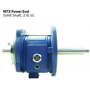 Repuesto Power end, Bomba Goulds 3196 MTX, Eje 316 SS (sin camisa)